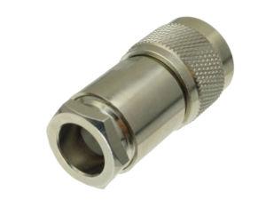 Image 3 - 10 Uds. De conector N macho, abrazadera de enchufe RG8 LMR400 RG213 RG165 RG393 RG214 Adaptador Coaxial RF recto