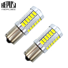 2x 1156 BA15S Reverse light P21W Front Rear Turn Signal Lamp DRL Tail bulb For Golf Passat Cabrio Touareg2 Beetle Touran Polo