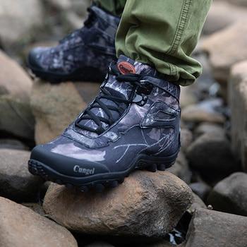 Winter Waterproof Tactical Boots Men Big Mountain Hiking Boots Outdoor Combat Shoes Trekking Sneakers Man Hiking Hunting Boots 5