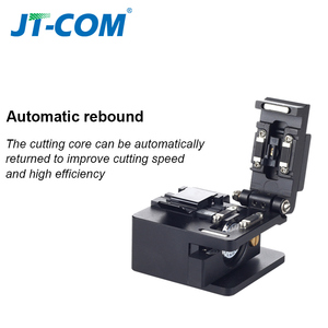 Image 5 - Fiber cleaver optical fusion Cable Cutting Knife FTTH single mode metal Fiber Optic Knife Tools cutter High Precision Cleavers