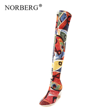 Fashion Sexy Women Over The Knee High Boots Woman Tight High Dancing BootsHigh Heels Autumn Winter Long Party Shoes fedonas top fashion women winter over knee long boots women sper thin high heels autumn comfort stretch height boots shoes woman
