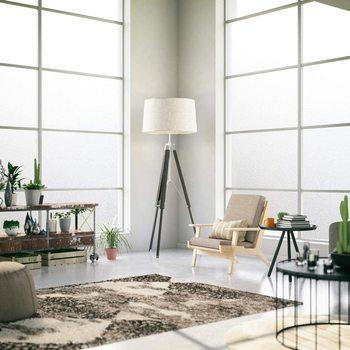 Película de ventana mate 3D, pegatina de ventana Uv decorativa, Película autoadhesiva esmerilada de privacidad para vidrio 2