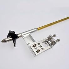 4 мм правая Гибкая ось гибкий кабель регулируемая стойка Prop Drive Dog Для Rc лодки