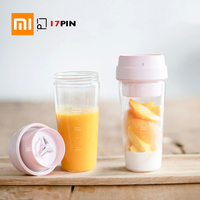 XIAOMI MIJIA 17PIN Star Fruit Cup Small Portable blender Juicer mixer food processor 400ML Magnetic charging 30 Seconds Of Quick