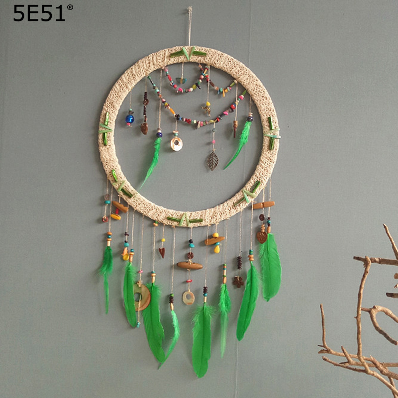 Один кусок ручной работы Ловец снов перо свадебное украшение подарок 40*75 см