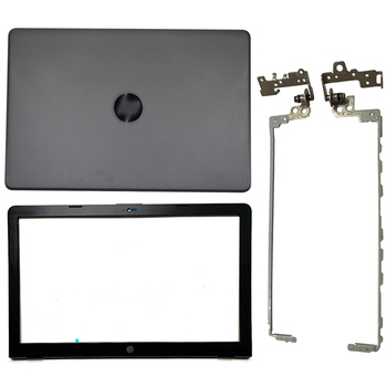 LCD Back Cover/Front Bezel/Hinges Cover For HP 15-BS 15T-BS 15-BW 15Z-BW 250 255 G6 924899-001 924893-001 924899-001 924900-001 original new for hp pavilion 15 bs 15t bs 15 bw 15z bw 250 g6 255 g6 laptop lcd back cover front bezel hinges 924900 001 white