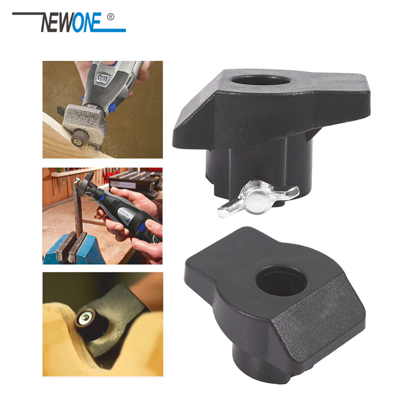 1pc Sanding Grinding Guide Attachment Rotary Tool Accessories For Dremel And Hilda Mini Drill