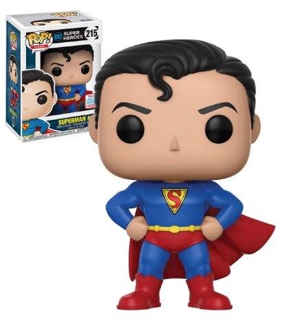 Funko pop justice league super herói superman 215 #85 #207 #3 modelo figuras de brinquedo ação coleção boneca brinquedos para crianças|Figuras de ação|   -