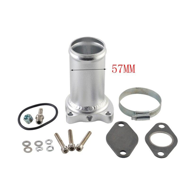 57 мм EGR клапан замена трубы костюм для audi seat VW 1,9 TDI 130/160 BHP 2,25 дюймов дизельное удаление egr наборы