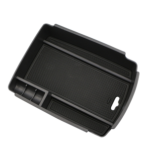 Image 5 - Car Central Armrest Storage Box Container Holder Tray for KIA Sportage KX5 QL AT LHD 2016 2017 ( for Electronic Hand Brake )