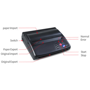 Image 5 - Tattoo Stencil Maker Transfer Machine Thermal Copier Printer With Gift  10 Pieces   Papers