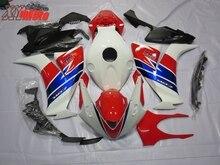 ABS Motorcycle Fairing Kit For Honda CBR1000RR 2012-2016 Injection ABS Fairings CBR 1000RR 12-16 Gloss White Red Bodyworks