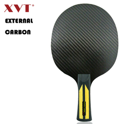 XVT Professional EXTERNAL CARBON Arylater Carbon Table Tennis Blade/ ping pong blade/ table tennis bat SEND WHOLE COVER CASE