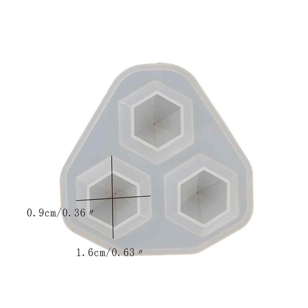1 قطعة قالب من السيليكون الإبداعي الراتنج قوالب ل قلادة الماس الصغيرة قلادة الماس يموت قالب للمجوهرات