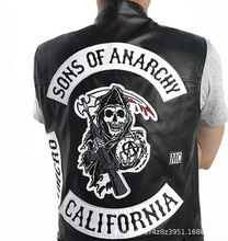 ใหม่มาถึงHot TV Sons Of Anarchyชุดคอสเพลย์Mens Zipper Hoodie Coatเสื้อฤดูหนาวฤดูใบไม้ร่วงเสื้อHoodie