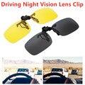 2021 модные новые очки ночного видения для вождения с зажимом для линз автомобильные очки для вождения анти-UVA UVB поляризованные солнцезащитн...