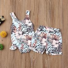Boys Girls swimsuit New Summer Bikini Lovely Child Swimsuit Beachwear Backless Kids Swimwear Swimming Trunks