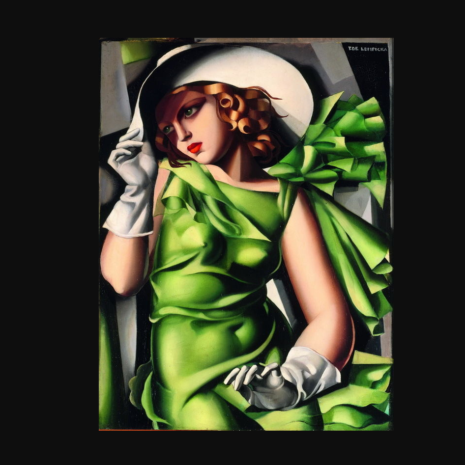 Tamara De Lempicka Young Lady With Gloves Giclee Canvas Print Paintings Poster Printed Painting Tamara De Lempicka Poster Printprint Poster Aliexpress
