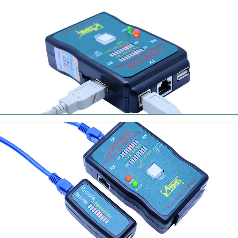 CT-168 lan usb cable tester RJ45 Cat5 RJ11 Network cable finder Multiple Interfaces Line Maintenance with voltage pen 4