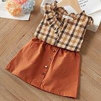 H525e99837cbf483db8cb7f1fa96fcea52 Melario Kids Girls Clothing Sets Summer Baby Girls Clothes T-Shirt and Jeans Shorts Suit 2Pcs Children Clothes Suits