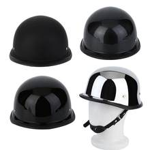 DOT Adult Motorcycle Scooter Half Face German Style Helmet For Cruiser(China)