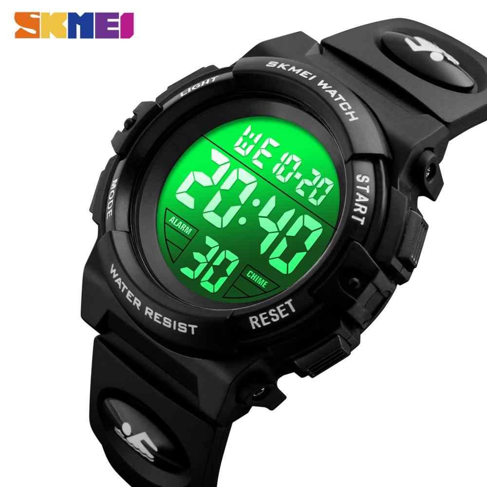 SKMEI 子供 Led デジタル腕時計クロノグラフ時計スポーツ腕時計子供のための防水腕時計 Montre 注ぐランファン