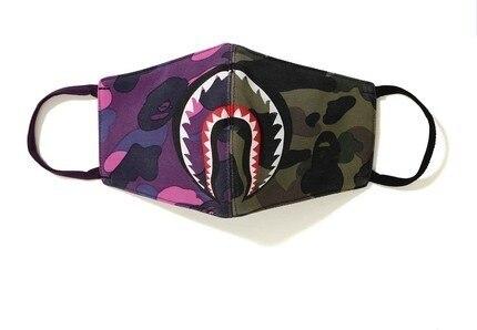 Women Men Muffle Face Mouth Masks Shark Mouth Mask Cotton Dustproof Mouth Face Mask Windproof Mouth-muffle Flu Face Mask 5