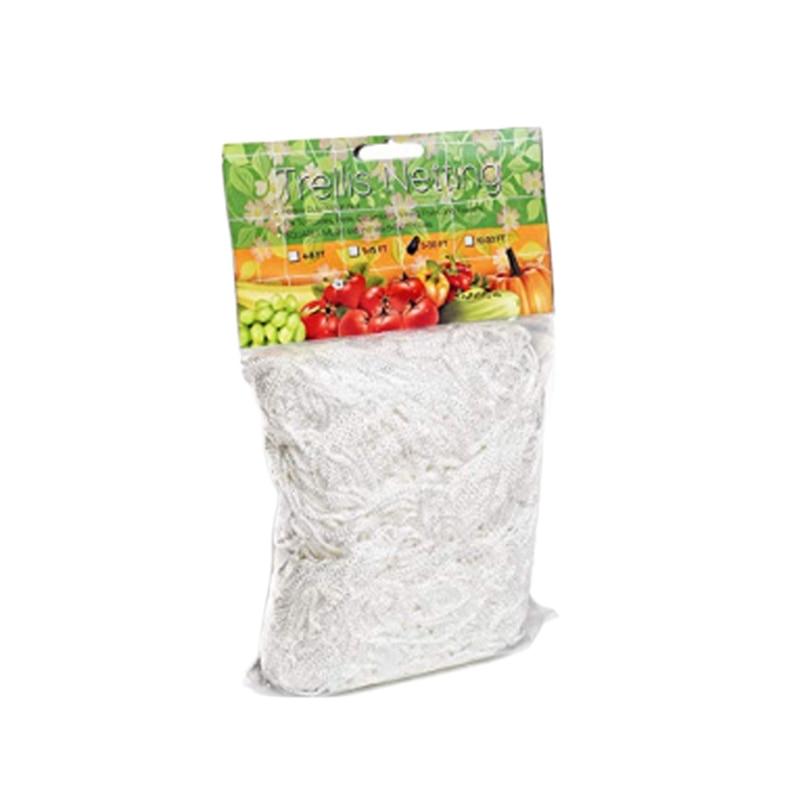 1Pcs Grow Frame Flower Vine Garden Weaving Plant Climbing Net Vegetable Polyester Support Cucumber Trellis Netting Mesh Landing