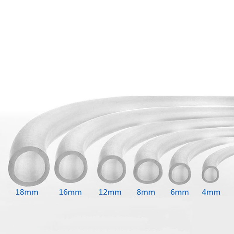 4mm/8mm/10mm/12mm Soft Silicone Oxygen Pump Hose For  Aquarium Air Bubble Stone Fish Tank Pond Pump Tube Accesorios Acuario