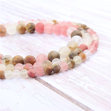Frosted Watermelon Natural?Stone?Beads?For?Jewelry?Making?Diy?Bracelet?Necklace?4/6/8/10/12?mm?Wholesale?Strand