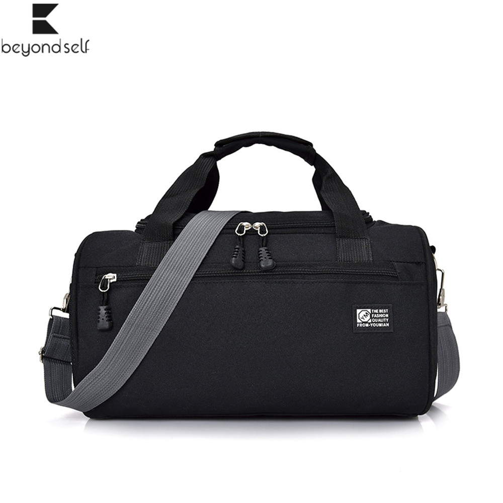 Sports Bags For Gym Women Men Fitness Bag Waterproof Cylinder One Shoulder Outdoor Sport Bag Swimming Travel Package Handbag