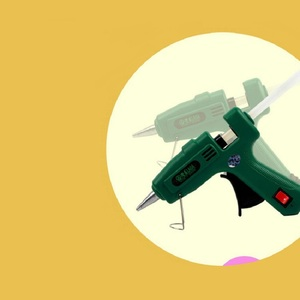 Image 3 - LAOA 25W/100W Hot Melt Glue Gun with Free Sticks