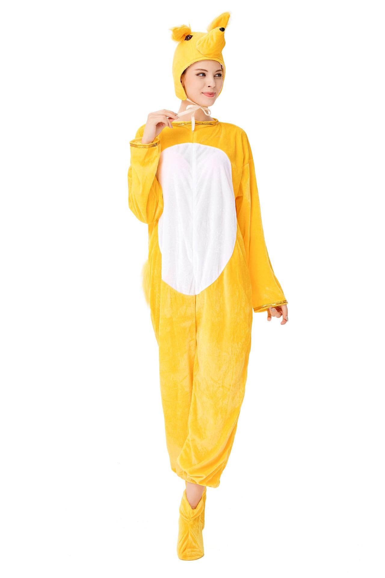 Купить новый костюм животного для взрослых на хэллоуин косплея из трех