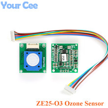 ZE25 O3 Ozone Sensor Module Gas Sensor DetectIng O3 Ozone UART/Analog Voltage/PWM Wave 3.7 5.5V
