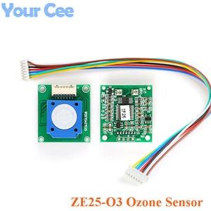 Image 1 - ZE25 O3 Ozone Sensor Module Gas Sensor DetectIng O3 Ozone UART/Analog Voltage/PWM Wave 3.7 5.5V