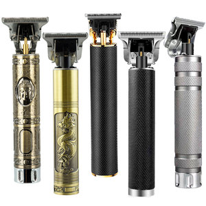 Electric Hair Clippers Professional Hair Trimmer Man Beard Shaving Precision Finishing Hair Cutting Machine Chargeable 0mm Razor