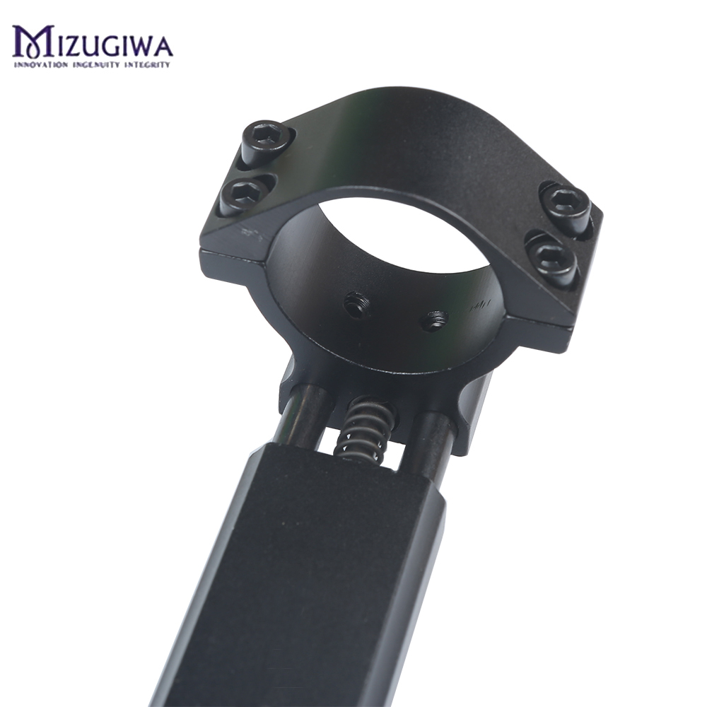 Image 5 - One Piece Airgun Rifle Scope Mount 25.4mm / 30mm Double Ring W/Stop Pin 11mm Rail Hunt Weaver Rail Mount Adapter With Flat top-in Scope Mounts & Accessories from Sports & Entertainment