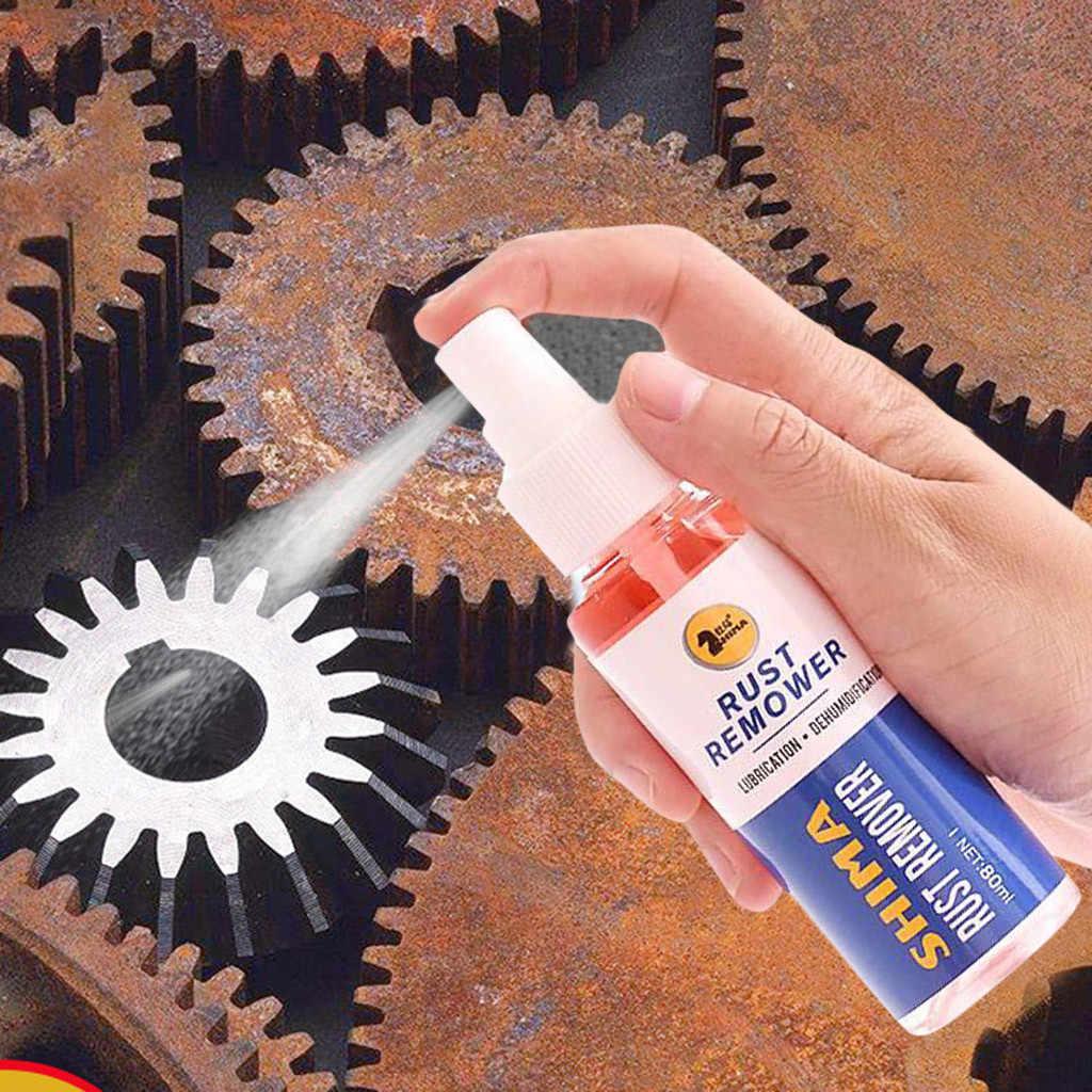 Superficie di metallo Cromato Vernice Auto di Manutenzione di Ferro In Polvere di Pulizia Ruggine Ruggine Rimozione Rapida Cleaming Spray