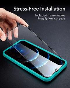 Image 5 - Esr iPhone 12 pro max用のタフレンズ付き保護ガラス,強化ガラス,フルカバー,2個