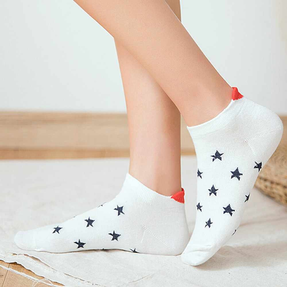 חדש הגעה נשים גברים גרביים מקרית עבודת לב בצורת גרבי כותנה יפה אופנה גרב נוח Meias מעודן Socquette Soxs