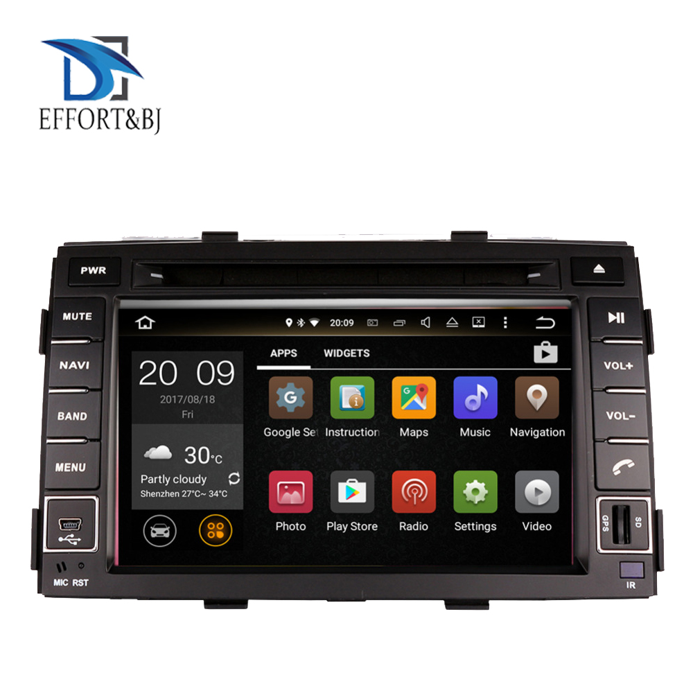 4G android 9.0 car dvd for kia sorento 2010-2012 in dash car stereo gps nagavition headunit Tape Recorder Car multimedia player image
