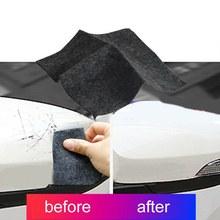 Araba çizik onarım aracı bez araba çizik silgi sihirli onarım sökücü Nano bez yüzey Scuffs Fix otomatik parlatma malzemeleri