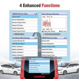 Image 4 - Uruchom CR3008 skaner samochodowy bateria OBD narzędzie diagnostyczne do samochodów czytnik kodów skaner OBD2 OBDII OBD silnik kw850 Creader 3008