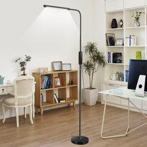 Image 5 - Ganeed LED raf zemin lambası ahşap iç uzun ışık Modern kapalı dekor ayakta aydınlatma yatak odası oturma çalışma odası ev