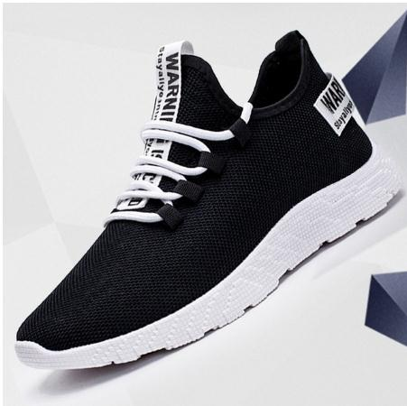 Men Sneakers Breathable Casual No-slip Men Vulcanize Shoes Male Air Mesh Lace Up Wear-resistant Shoes Tenis Masculino