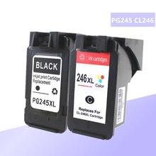PG-245XL PG245XL PG245 CL246 خرطوشة حبر لكانون PG 245 PG-245 CL 246 ل Pixma iP2820 MX492 MG2924 MX492 MG2520 طابعة