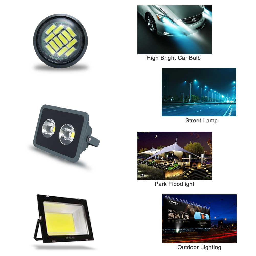 LED 12V ชิป COB ไฟ LED แหล่งกำเนิดแสงหลอดไฟ 2 W-300 W สำหรับบ้านหลอดไฟ DIY spotlight น้ำท่วม DIODE หลอดไฟ LED 12V JQ0