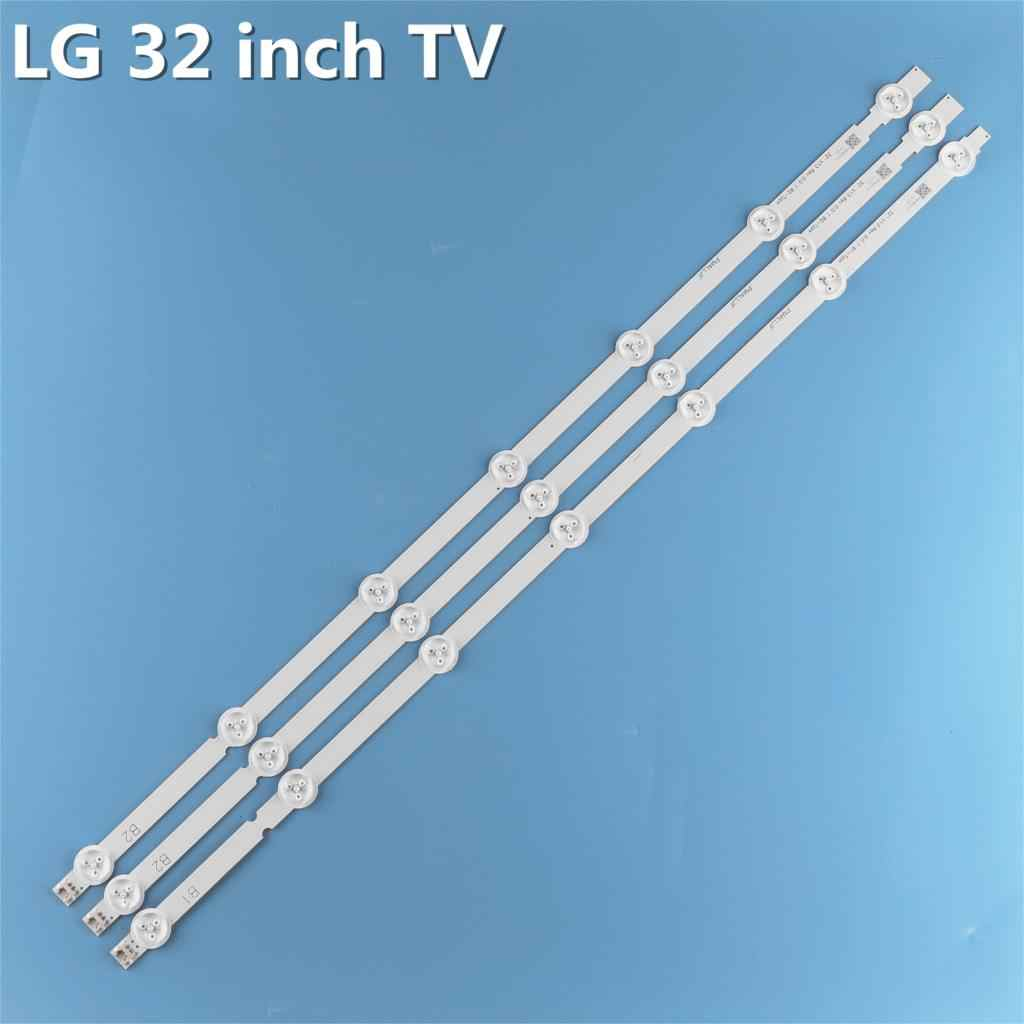LED شريط إضاءة خلفي 7 مصباح ل LG 32 ''ROW2.1 Rev التلفزيون 32ln541v 32LN540V 6916L-1437A 6916L-1438A 6916L-1204A 6916L-1426A