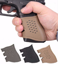 Airsoft Sleeve Slip Rubber Skidproof Cover For AEG GBB Glock 1911 M92 M4 AR15  Pistol Tactical Grip Paintball Hunting Accessory