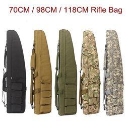 70 cm/98 cm/118 CM gra wojenna Tactical Gun Bag slip trwały sprzęt myśliwski Gun torby Air pojemnik wyścielany plecak w Torby myśliwskie od Sport i rozrywka na